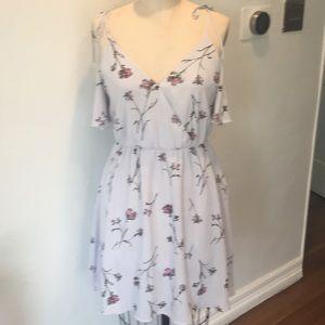 Lush short sleeve dress